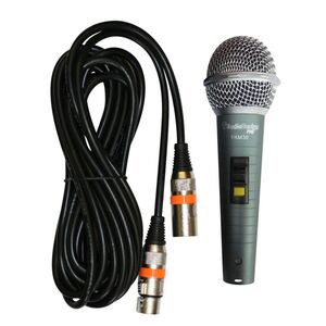 AUDIODESIGN PA M30 MICROFONO IN METALLO PROFESSIONALE PER VOCE E CANTO