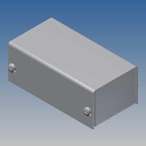 TEKO AL BOX 1/A.1 CONTENITORE ALLUMINIO SCATOLA IN METALLO KEYBOARD 38x72x28mm