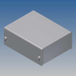 TEKO AL BOX 2/A.1 CONTENITORE ALLUMINIO SCATOLA IN METALLO KEYBOARD 57,5x72x28mm