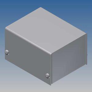 TEKO AL BOX 2/B.1 CONTENITORE ALLUMINIO SCATOLA IN METALLO KEYBOARD 57,5x72x43mm