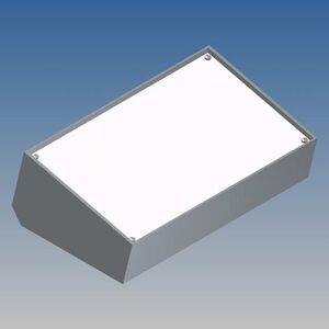 CONTENITORE TEKO 216x130x77,7mm GRIGIO - SCATOLA IN PLASTICA PER ELETTRONICA - PULT363