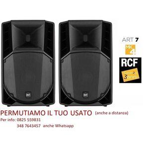 """RCF ART 710A MK4 10"""" –  Coppia Casse Attive 2800W"""