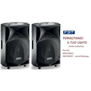 FBT JMaxX 114A Coppia di Casse Amplificate Attive Professionali 1800W Novita'