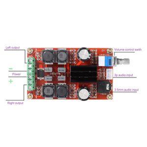 Amplificatore Audio Stereo 50W + 50W 24V DC - PCB BOARD Classe D