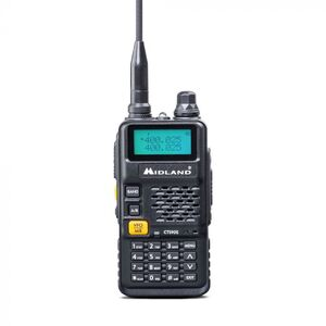 Midland CT590S Ricetrasmettitore Portatile Dual Band 144 430 Mhz Palmare VHF UHF
