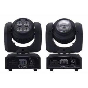 Testa Mobile 4in1-Mini-LED-Spot-Moving-Head