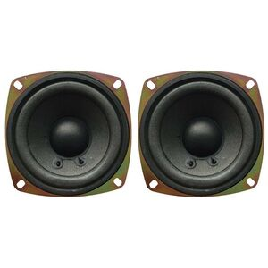 "Coppia Altoparlanti Mid Woofer 10,5 Cm 105 mm 4"" Pollici 8 Ohm 60 W"