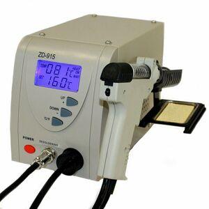 ZD-915 STAZIONE DISSALDANTE A TEMPERATURA CONTROLLATA 140W - DISPLAY LCD