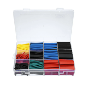 Kit guaine termorestringenti colorate assortite - 560 pz