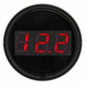 Voltmetro presa accendisigari 12-24V - Display rosso