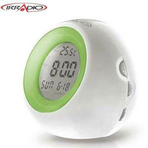 Sveglia Elettronica Digitale con Termometro e Ionizzatore, Irradio RC-202ION