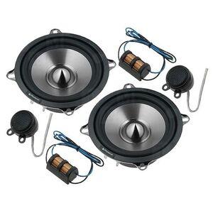 PHONOCAR 2/854 kit 2 vie Stereo woofer 130mm + tweeter 15mm + crossover