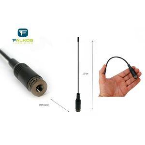 SRH-701M ANTENNA PER PORTATILI VHF/UHF 144 430 Mhz Attacco SMA Maschio