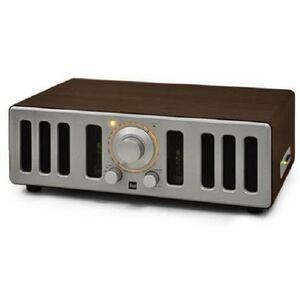 Radio Dual pre Valvolare NR21 AM/FM Radio USB MP3 & Aux-in/Vintage