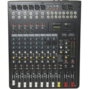 MONTARBO FiveO F124CX Mixer Audio 12 Canali MP3 Registratore USB