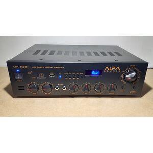 APA-160BT Amplificatore Stereo HI-FI USB Bluetooth MP3 FM Alta Potenza 1200W
