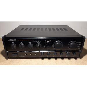Audioline AV-302USB Amplificatore Stereo HI-FI Karaoke 400W