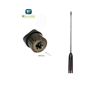 HSMA-3M ANTENNA PER PORTATILI VHF/UHF 144 430 Mhz Attacco SMA Maschio