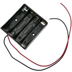Contenitore porta batterie 4xAAA 1.5V