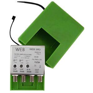 Amplificatore Antenna TV da palo Web3 / R3