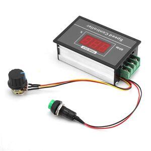 Regolatore di velocità con Display Digitale controllo velocità motore PWM con Interruttore DC