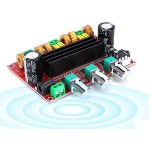 Modulo amplificatore 2.1 2x80W + 100W - 24V