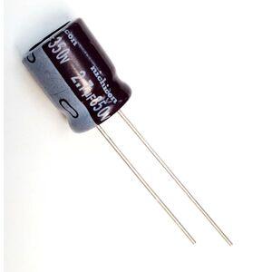 Condensatore Elettrolitico 2,7uF 350V 105°C Radiale 10x13mm Nichicon
