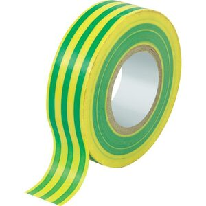NASTRO ISOLANTE GIALLO/VERDE 19mm 25MT
