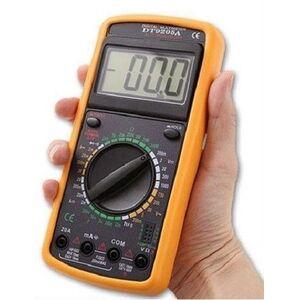 Multimetro digitale Tester DT9205A