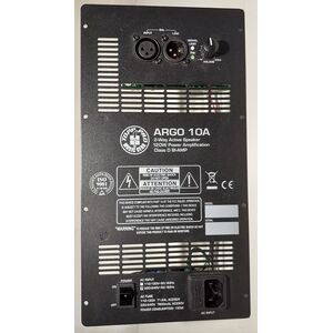 Argo 10A Modulo Amplificatore Finale di Potenza da Incasso per Casse Acustiche