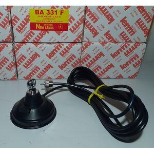 BA-331F Base magnetica per Antenna CB VHF UHF con attacco DV completa di cavo RG-58 e PL 259