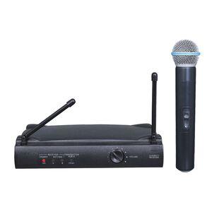 XT401-H Radio Microfono WI-FI Wireless Radiomicrofono UHF Diversity Palmare