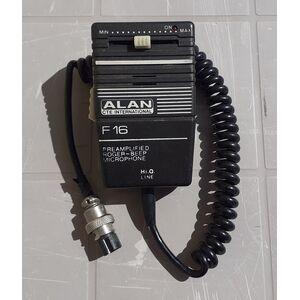 Alan CTE International F16 Microfono Preamplificato per Radio CB