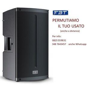 """FBT Xlite 115A Cassa Amplificata Attiva Professionale 15"""" 1500W Bluetooth 5.0"""