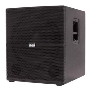 """Italian Stage IS S118A Subwoofer amplificato in legno 700W 18"""" by Proel"""