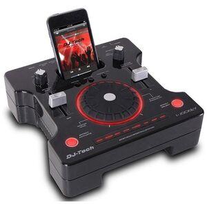 DJ-Tech i-Jockey Mobile DJ console mixer a 3 canali per iPod e altro