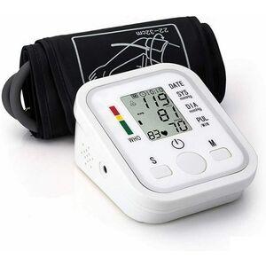 Misuratore pressione sanguigna da braccio automatico sfigmomanometro digitale