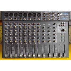 Mixer audio 12 canali db tecnologes MS 82D con effetti
