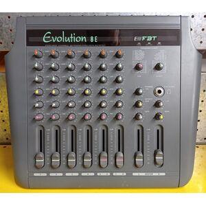 Mixer audio 8 canali FBT evolution 8E con effetti