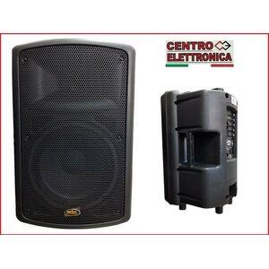 """CASSA AMPLIFICATA ATTIVA DIFFUSORE AUDIO 10"""" AB Lineare (Style FBT MAXX 2A)"""