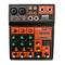 Mixer Audio Passivo 3 canali MP3 USB Effetto Echo Delay Effetti + Bluetooth