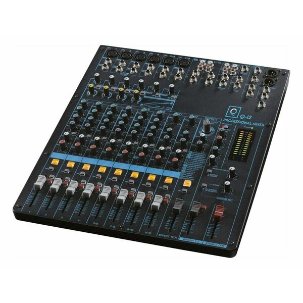 MIXER AUDIO OQAN Q12 USB e Bluetooth MP3 player 12 Canali