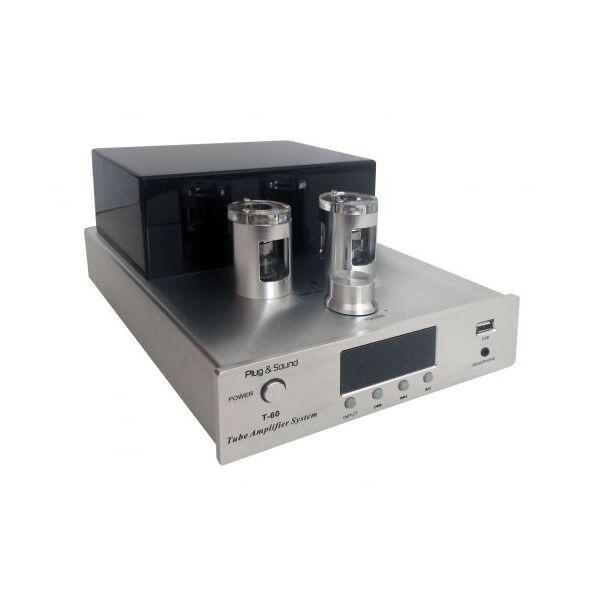 Amplificatore valvolare 35W+35W con USB e Bluetooth