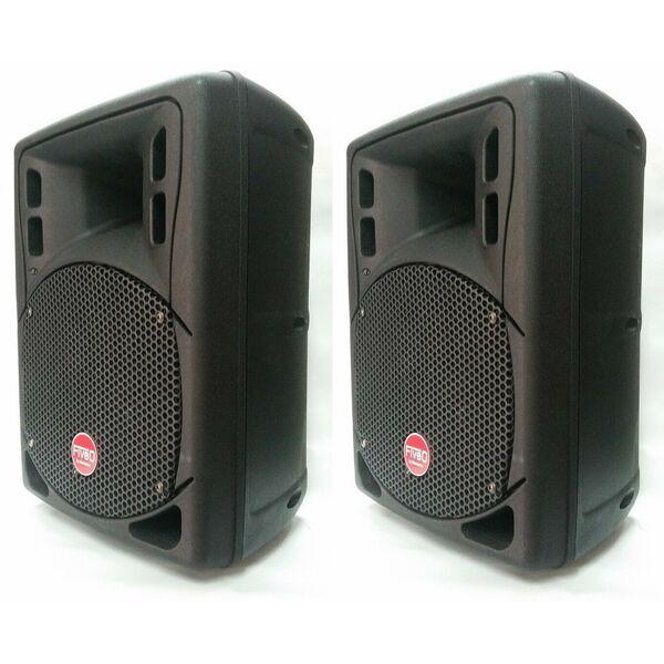 MONTARBO DUETTO LIGHT 8A COPPIA CASSE AUDIO AMPLIFICATE ATTIVE MONITOR 800W (Ex-Demo)