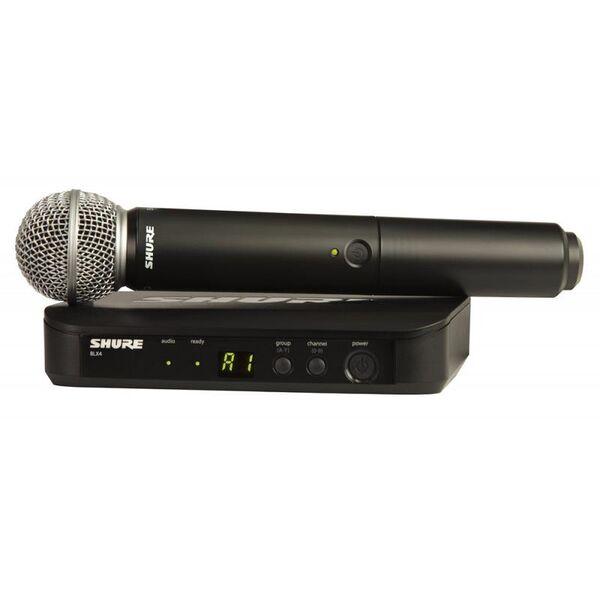 SHURE BLX24E / SM58 Radiomicrofono wireless palmare per voce e canto