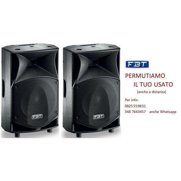 FBT JMaxX 110A Coppia di Casse Amplificate Attive Professionali 1800W Novita'