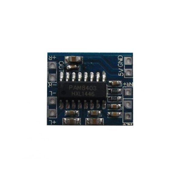 Mini Modulo PAM8403 Amplificatore Audio Stereo Digitale 3W + 3W