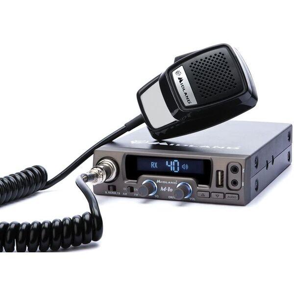 MIDLAND M10 - LA PRIMA RADIO CB VEICOLARE MULTIMEDIALE
