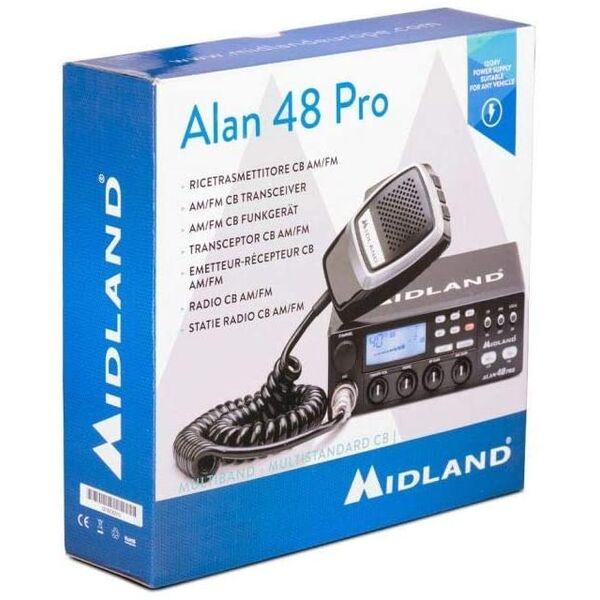 Midland Alan 48 Pro Radio Ricetrasmettitore CB
