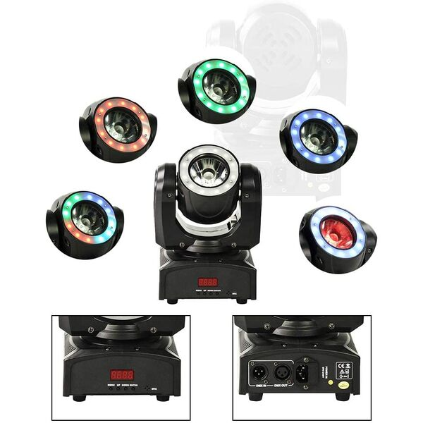 Testa Mobile Moving Head Light RGBW
